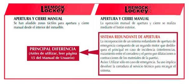 diferencias cerradura invisible remock lockey vs remock lockey pro